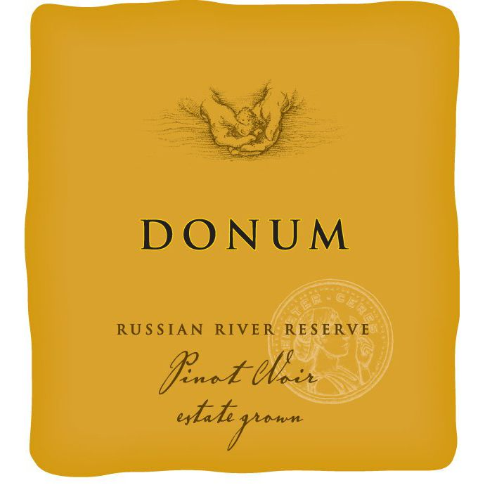 The Donum Estate Russian River Valley Reserve Pinot Noir 2013 Front Label