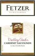 Fetzer Valley Oaks Cabernet Sauvignon 1998 Front Label