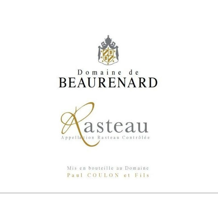 Domaine de Beaurenard Rasteau Cotes du Rhone Villages 2014 Front Label