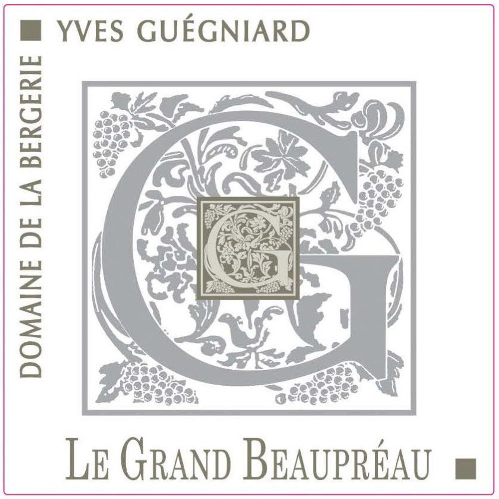 Domaine de la Bergerie Savennieres Clos Le Grand Beaupreau 2013 Front Label