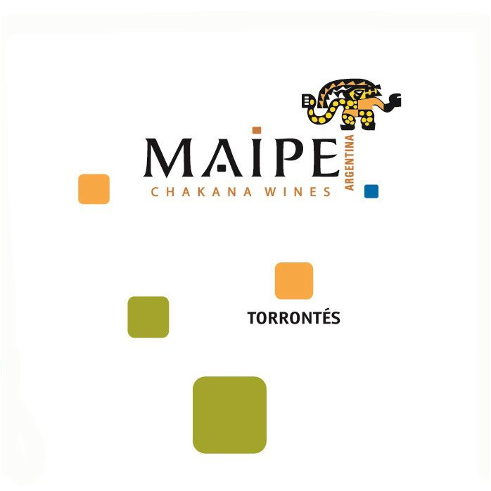 Maipe Torrontes 2015 Front Label