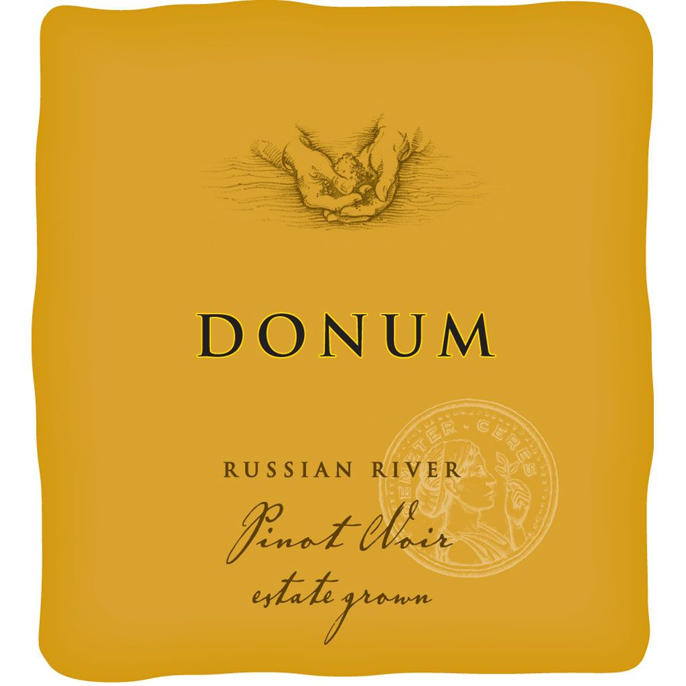 The Donum Estate Russian River Valley Pinot Noir 2013 Front Label