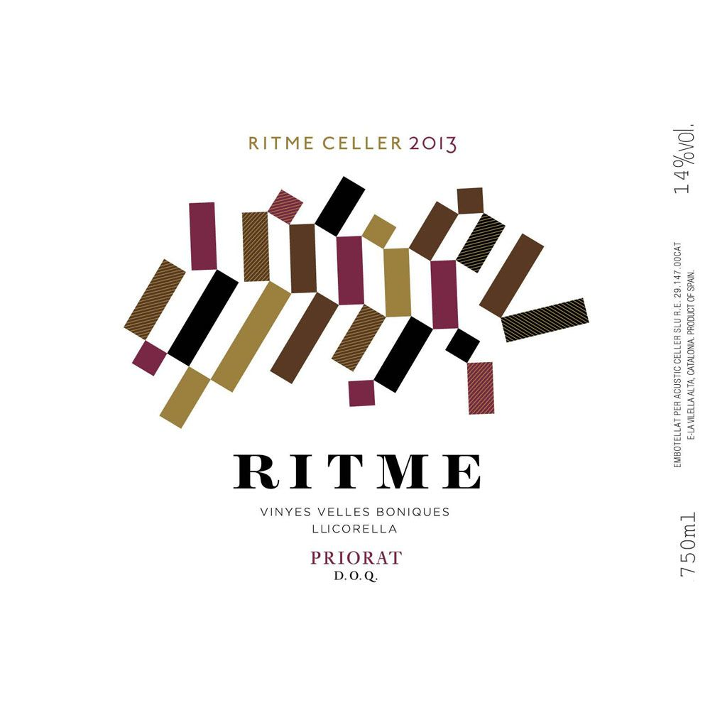 Ritme Red 2013 Front Label