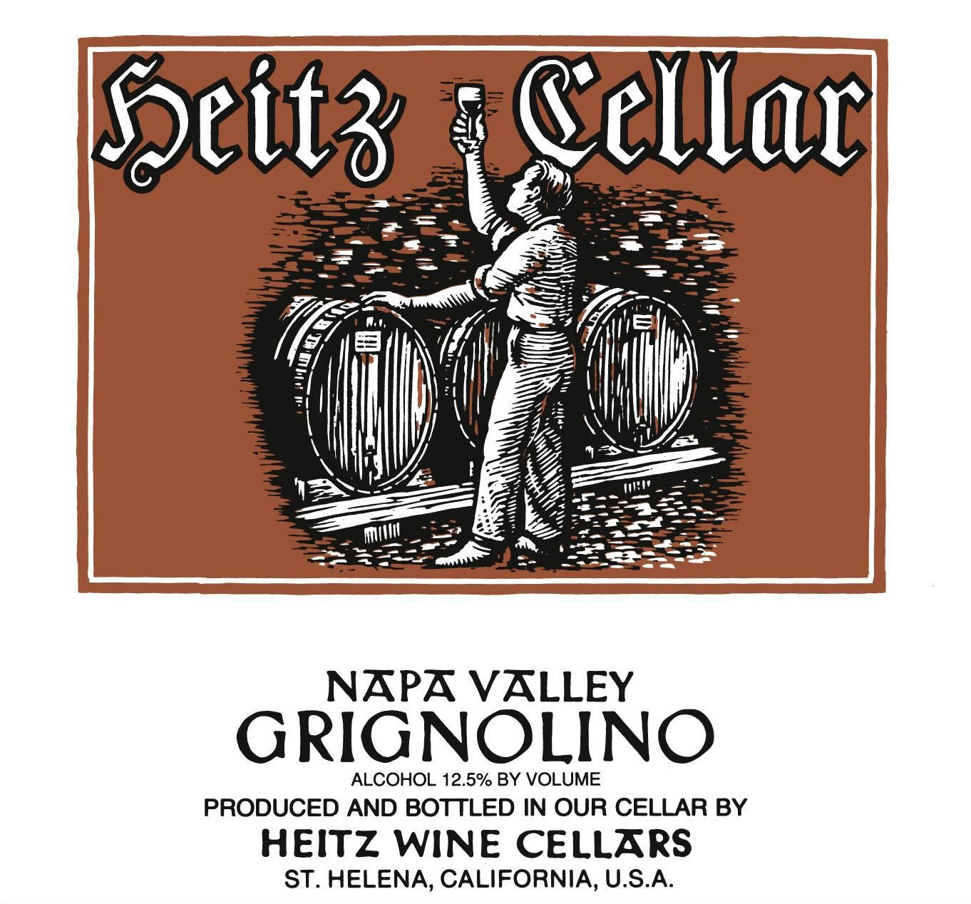 Heitz Cellar Grignolino 2008 Front Label