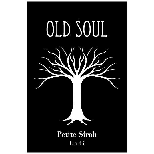 Old Soul Vineyards Petite Sirah 2015 Front Label