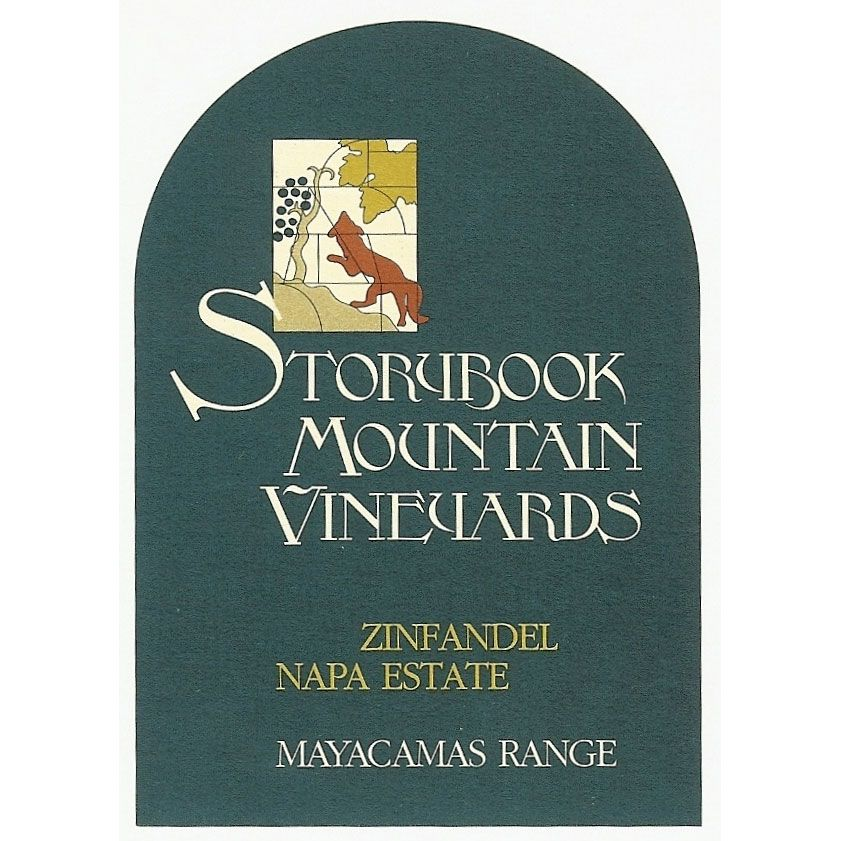 Storybook Mountain Mayacamas Range Zinfandel (375ML half-bottle) 2013 Front Label