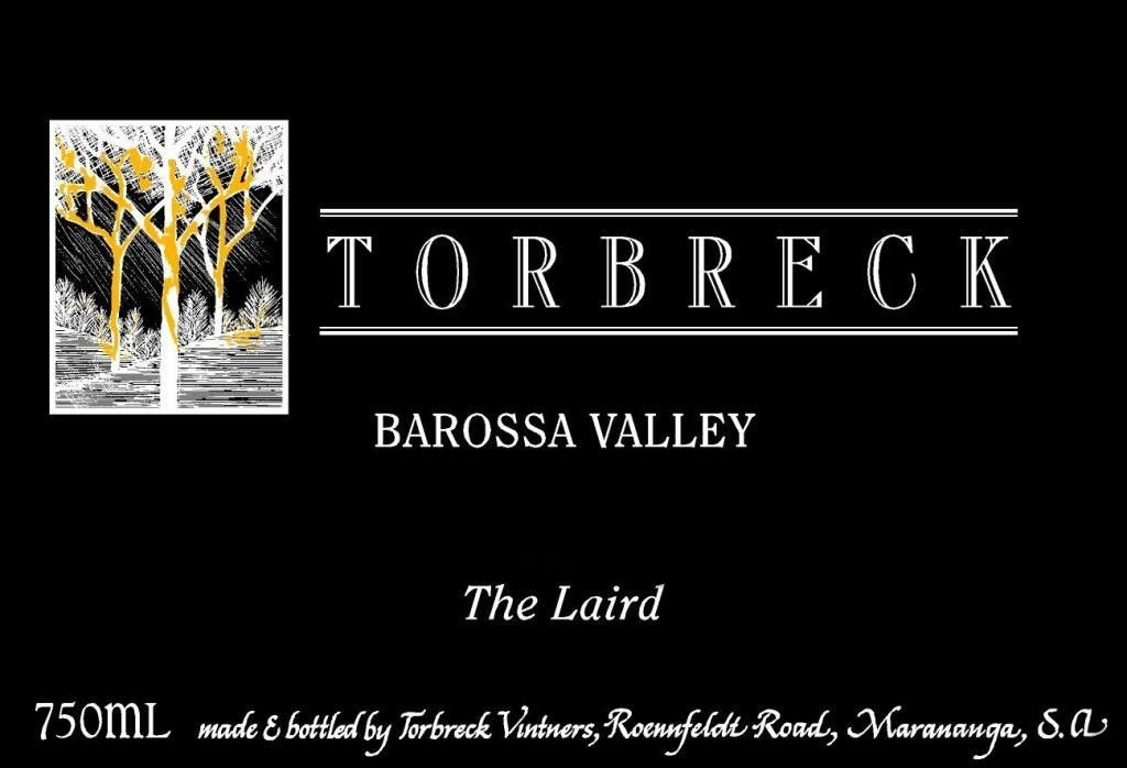 Torbreck The Laird 2010 Front Label