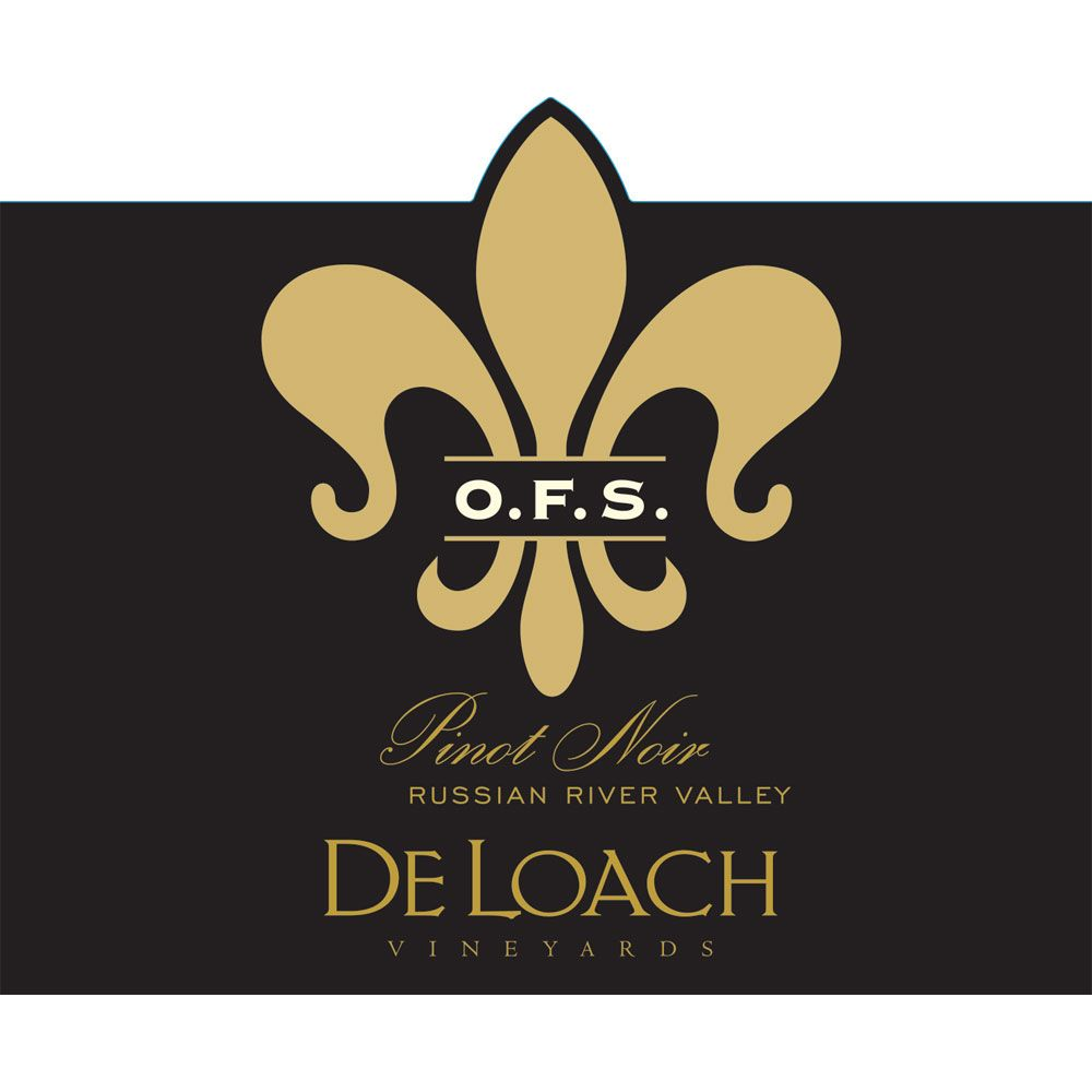 DeLoach O.F.S. Pinot Noir 2013 Front Label