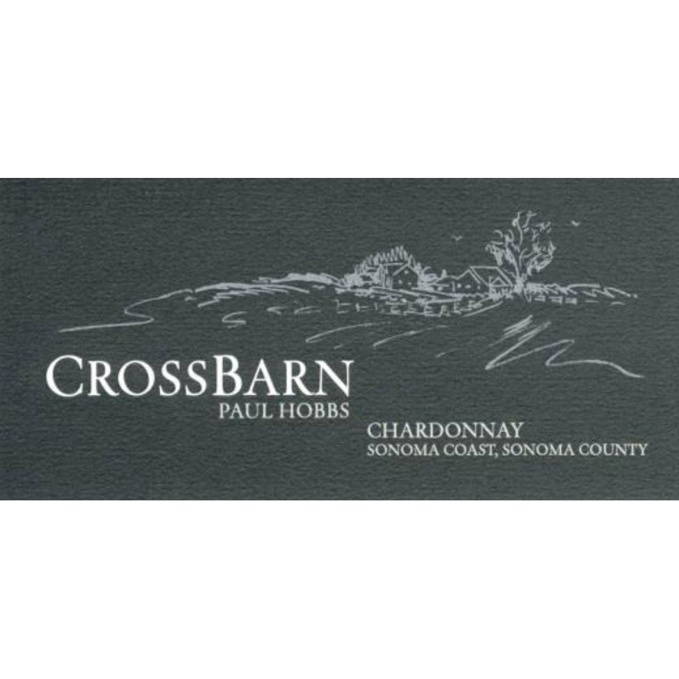 Crossbarn by Paul Hobbs Sonoma Coast Chardonnay 2015 Front Label