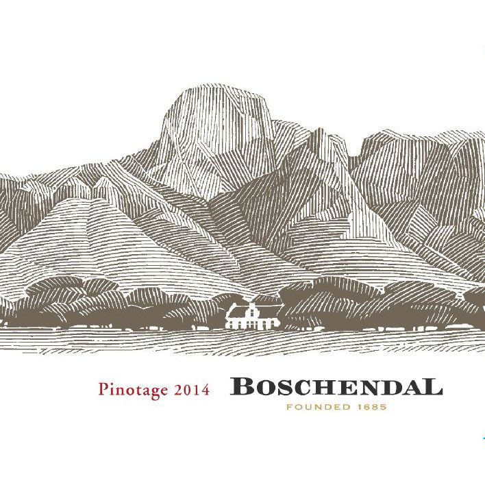 Boschendal Sommelier Selection Pinotage 2014 Front Label