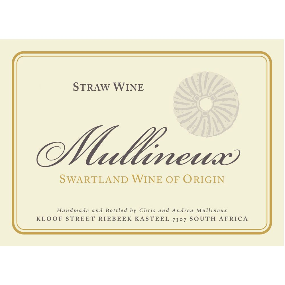 Mullineux Family Wines Straw Wine (375ML half-bottle) 2015 Front Label