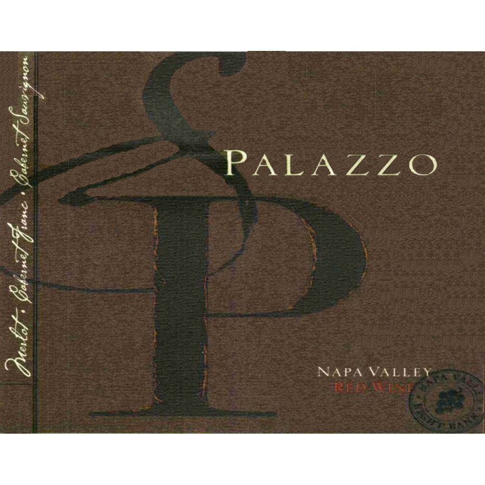 Palazzo Right Bank Red Wine 2010 Front Label