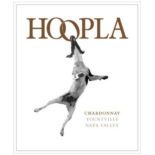 Hoopla Chardonnay 2014 Front Label