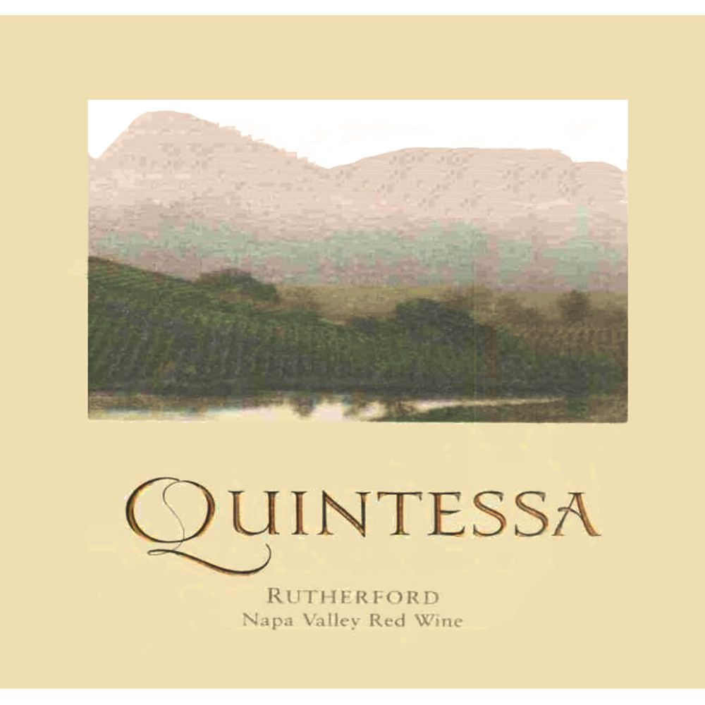 Quintessa (375ML half-bottle) 2004 Front Label