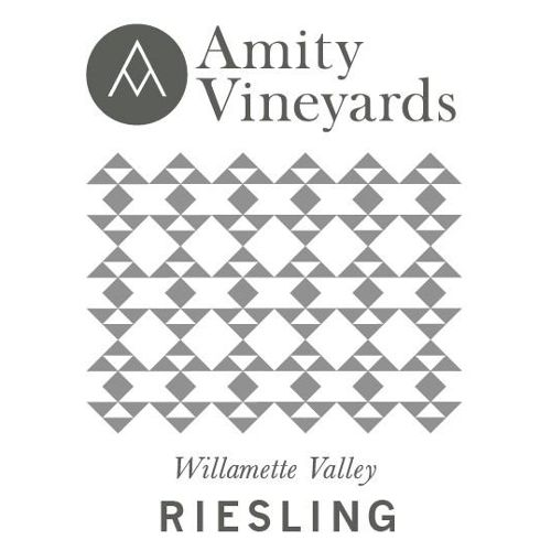 Amity Riesling 2014 Front Label