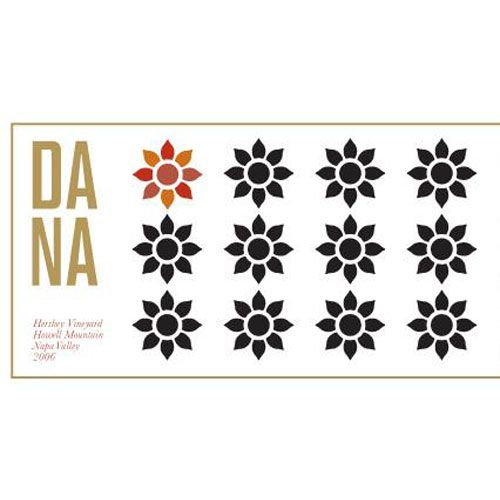 Dana Estates Hershey Vineyard Cabernet Sauvignon 2012 Front Label