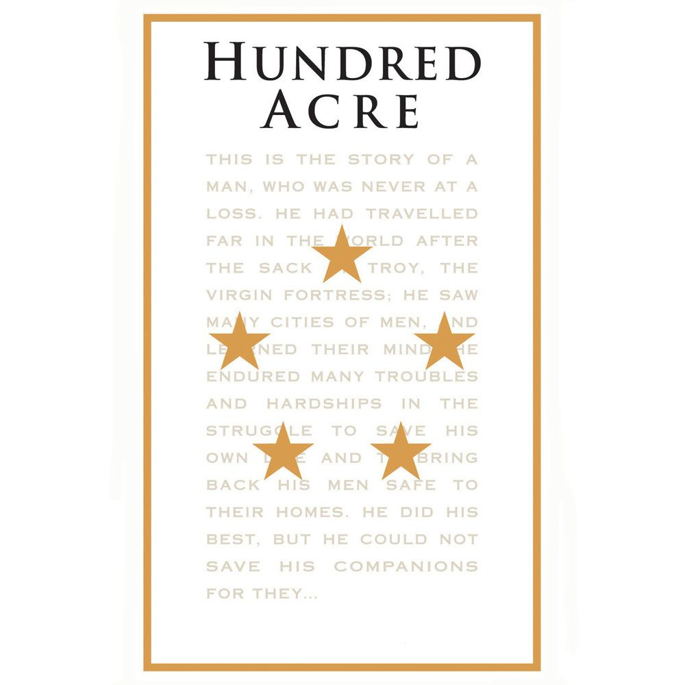 Hundred Acre Few and Far Between Cabernet Sauvignon 2012 Front Label
