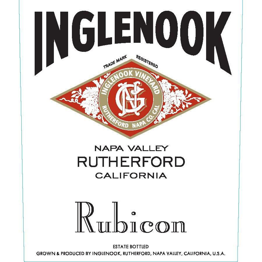 Inglenook Rubicon 2012 Front Label