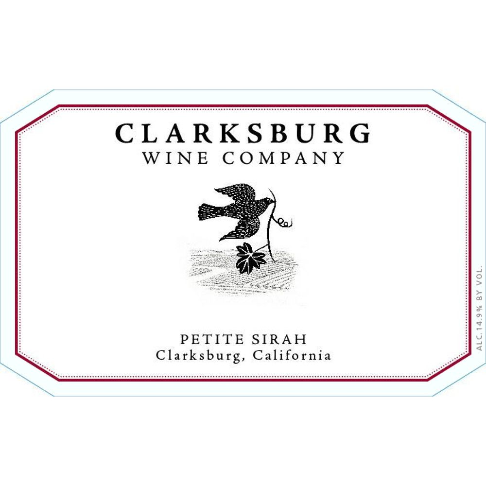 Clarksburg Wine Company Petite Sirah 2012 Front Label