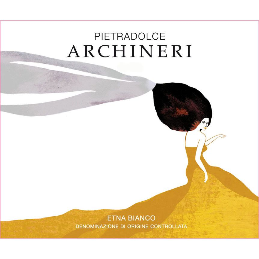 Pietradolce Archineri Etna Bianco 2015 Front Label