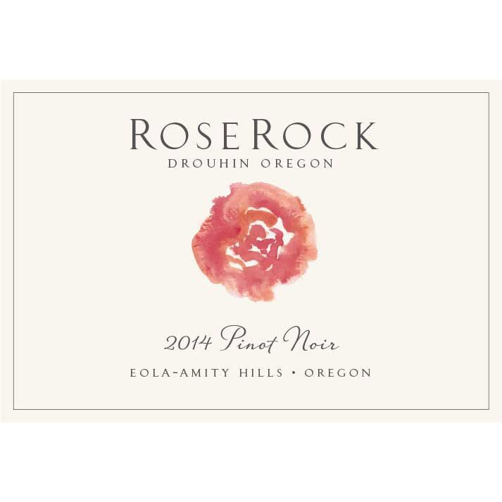 Roserock by Drouhin Oregon Eola-Amity Hills Pinot Noir (1.5 Liter Magnum) 2014 Front Label