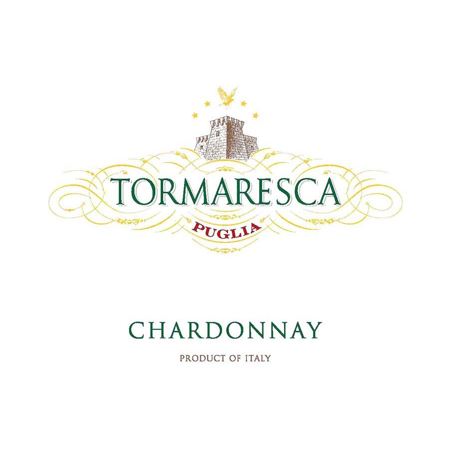 Tormaresca Chardonnay 2015 Front Label