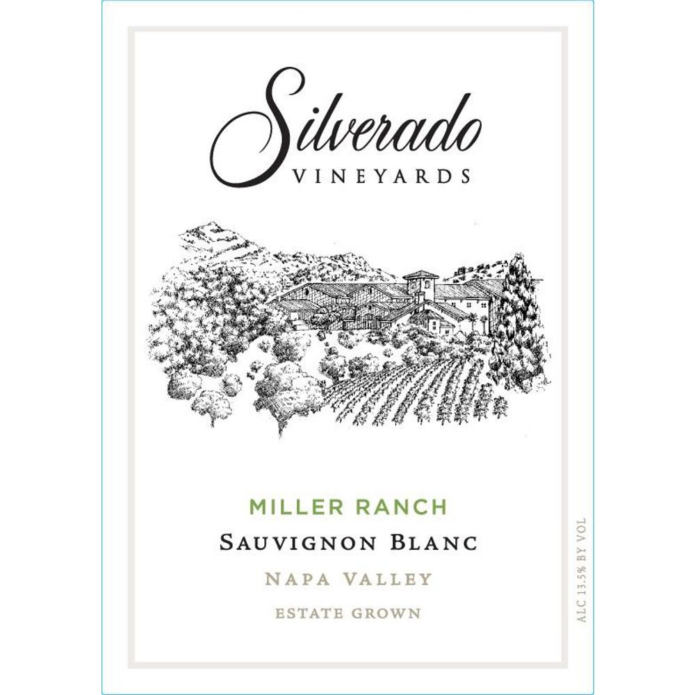 Silverado Miller Ranch Sauvignon Blanc (375ML half-bottle) 2014 Front Label