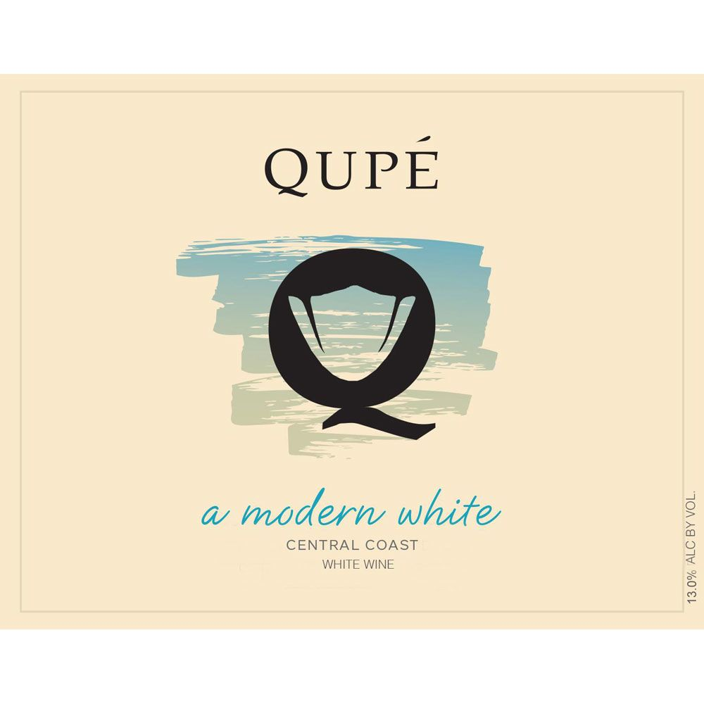 Qupe Modern White 2015 Front Label