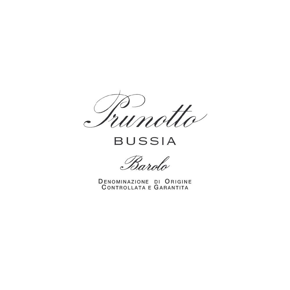 Prunotto Bussia Barolo 2009 Front Label