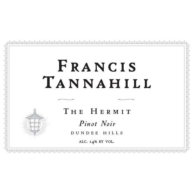 Francis Tannahill The Hermit Pinot Noir 2012 Front Label