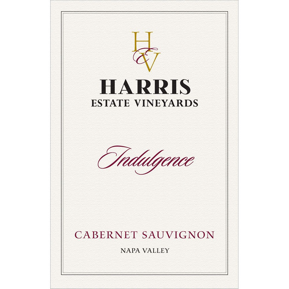 Heritage School Vineyards Indulgence Cabernet Sauvignon 2009 Front Label