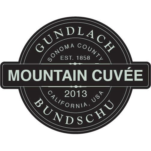 Gundlach Bundschu Mountain Cuvee 2013 Front Label