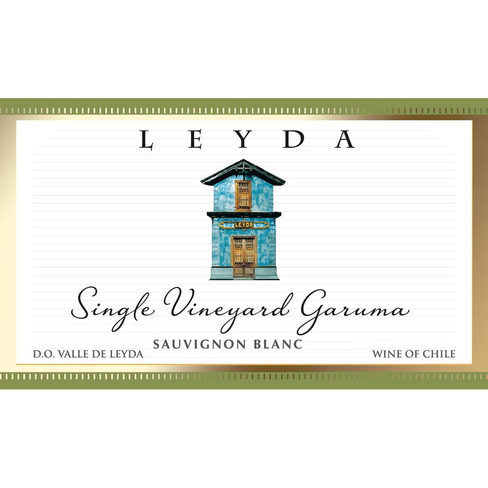 Vina Leyda Single Vineyard Garuma Sauvignon Blanc 2015 Front Label