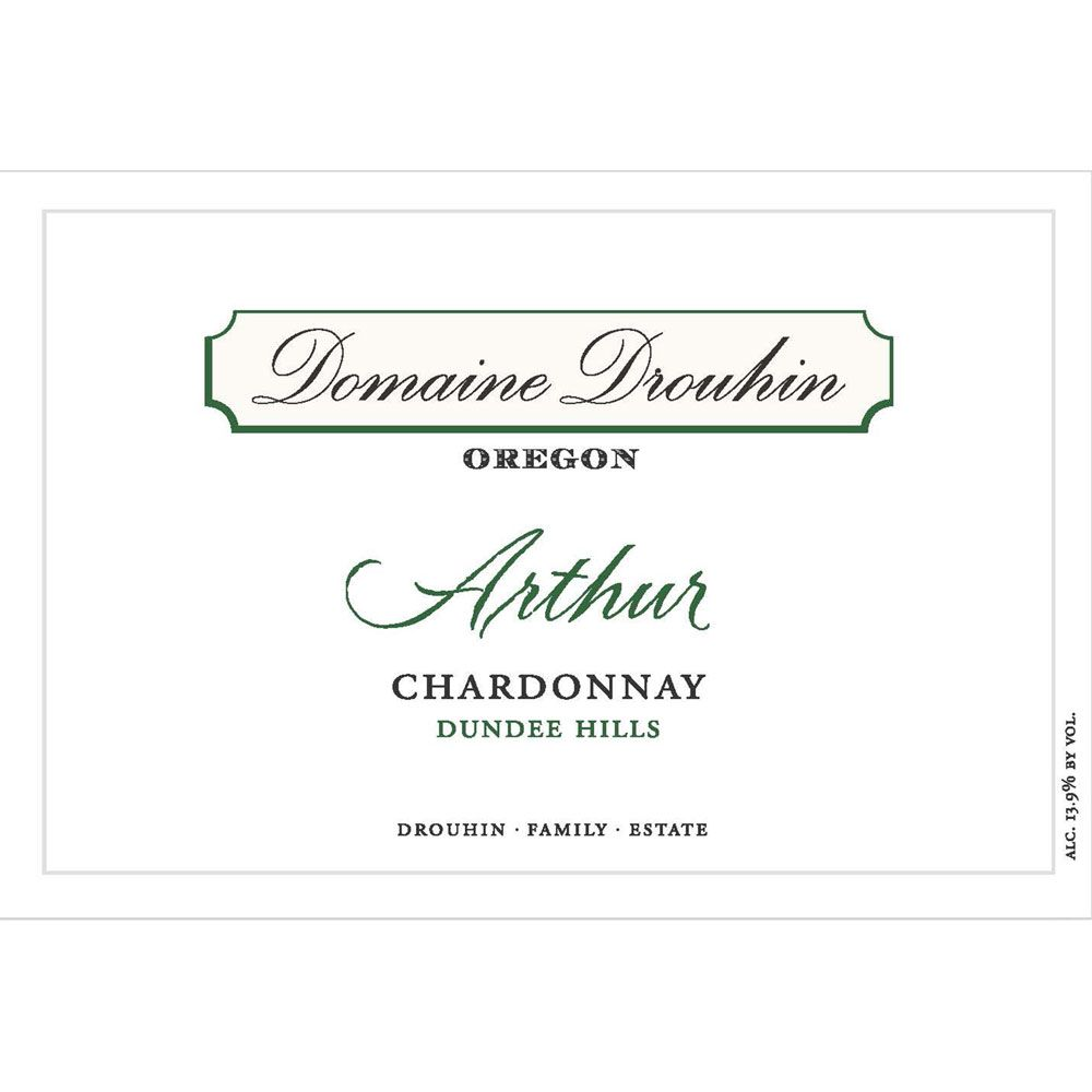Domaine Drouhin Oregon Chardonnay Arthur (375ML half-bottle) 2015 Front Label
