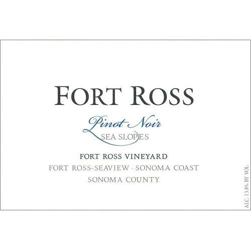 Sea Slopes by Fort Ross Winery Pinot Noir 2012 Front Label