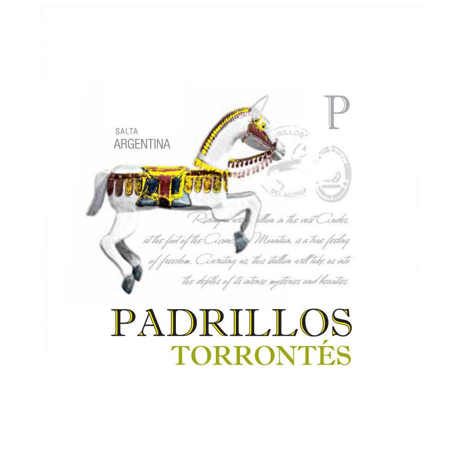 Ernesto Catena Selections Padrillos Torrontes 2013 Front Label
