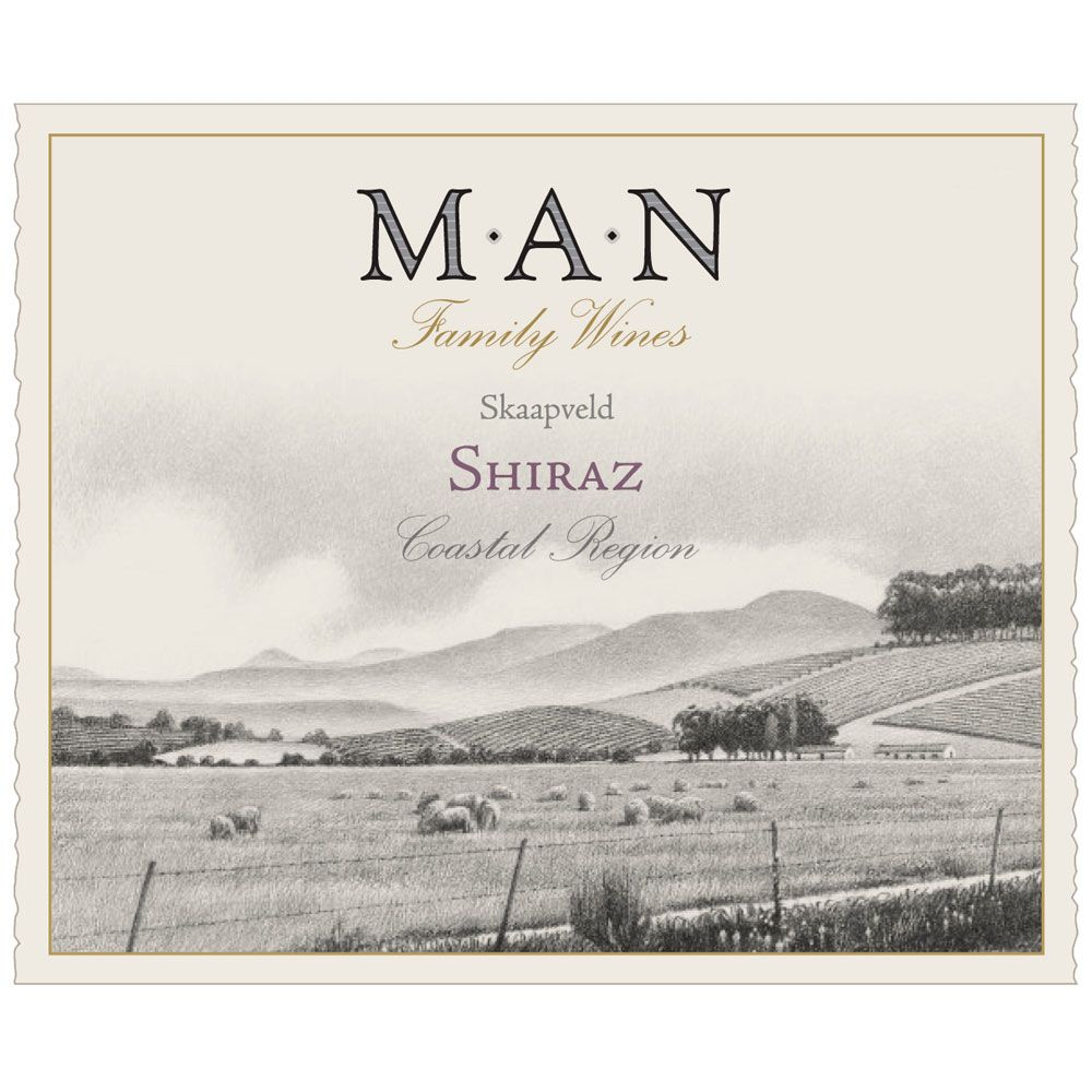 MAN Family Wines Shiraz 2013 Front Label