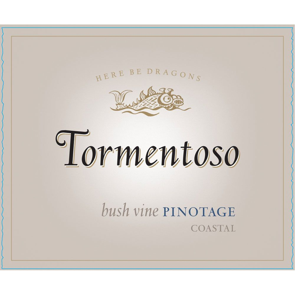 Tormentoso Pinotage 2014 Front Label
