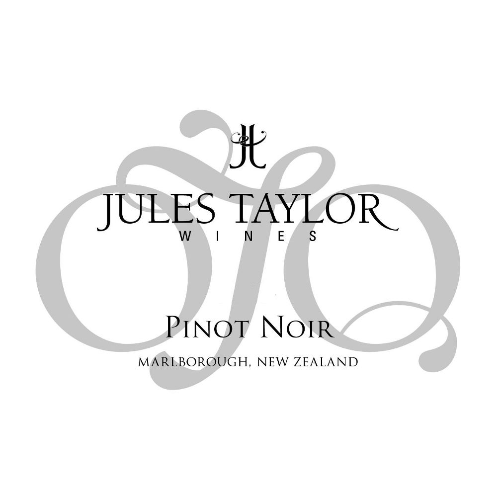 Jules Taylor OTQ Pinot Noir 2015 Front Label