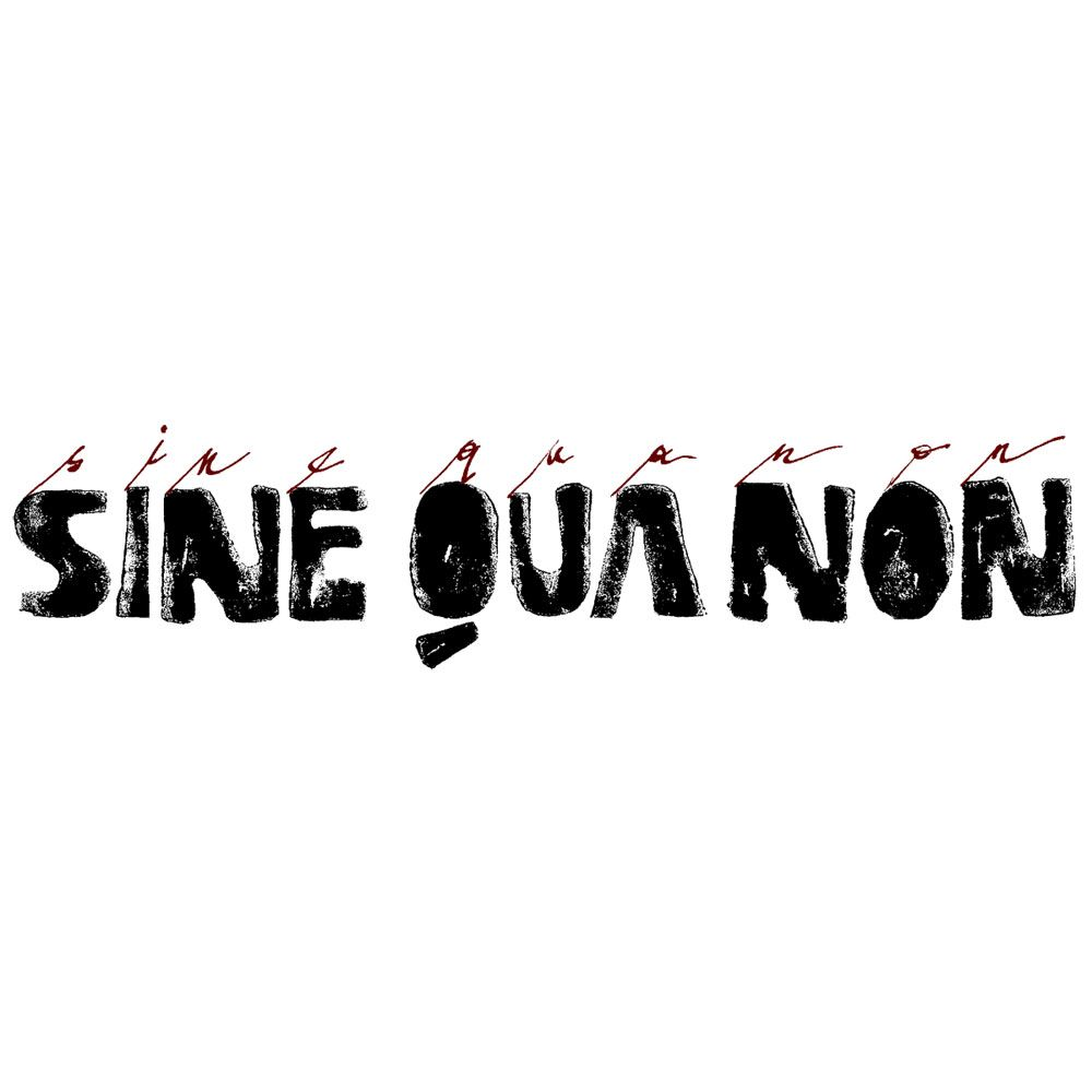 Sine Qua Non Male Syrah (slightly torn label) 2013 Front Label