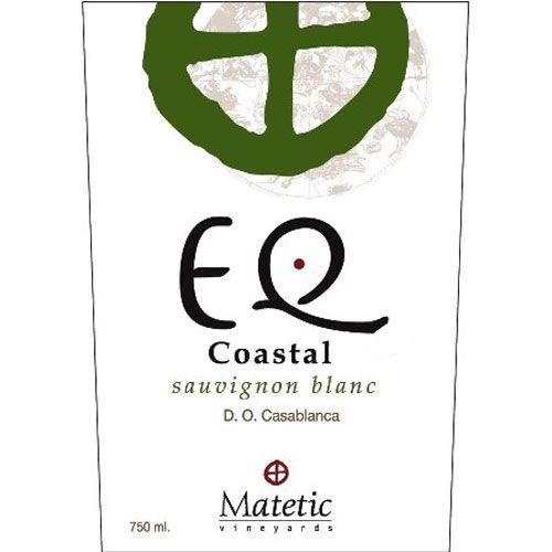 Matetic EQ Coastal Sauvignon Blanc 2016 Front Label