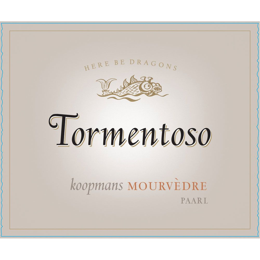 Tormentoso Mourvedre 2012 Front Label
