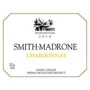 Smith Madrone Chardonnay 2014 Front Label