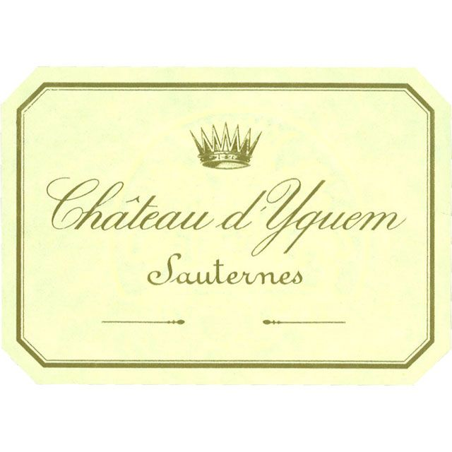 Chateau d'Yquem Sauternes (375ML half-bottle) 2014 Front Label