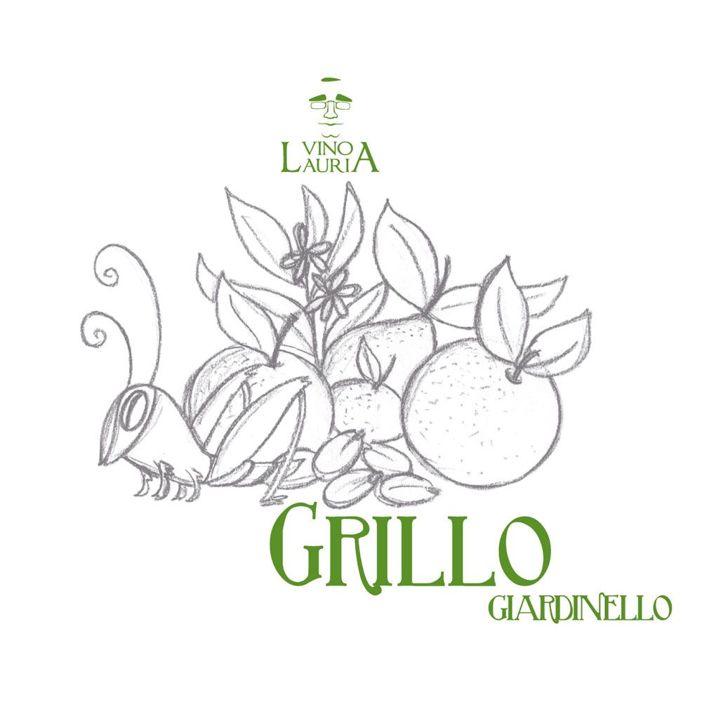 Vino Lauria Grillo 2015 Front Label