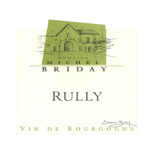 Michel Briday Rully Chardonnay 2014 Front Label