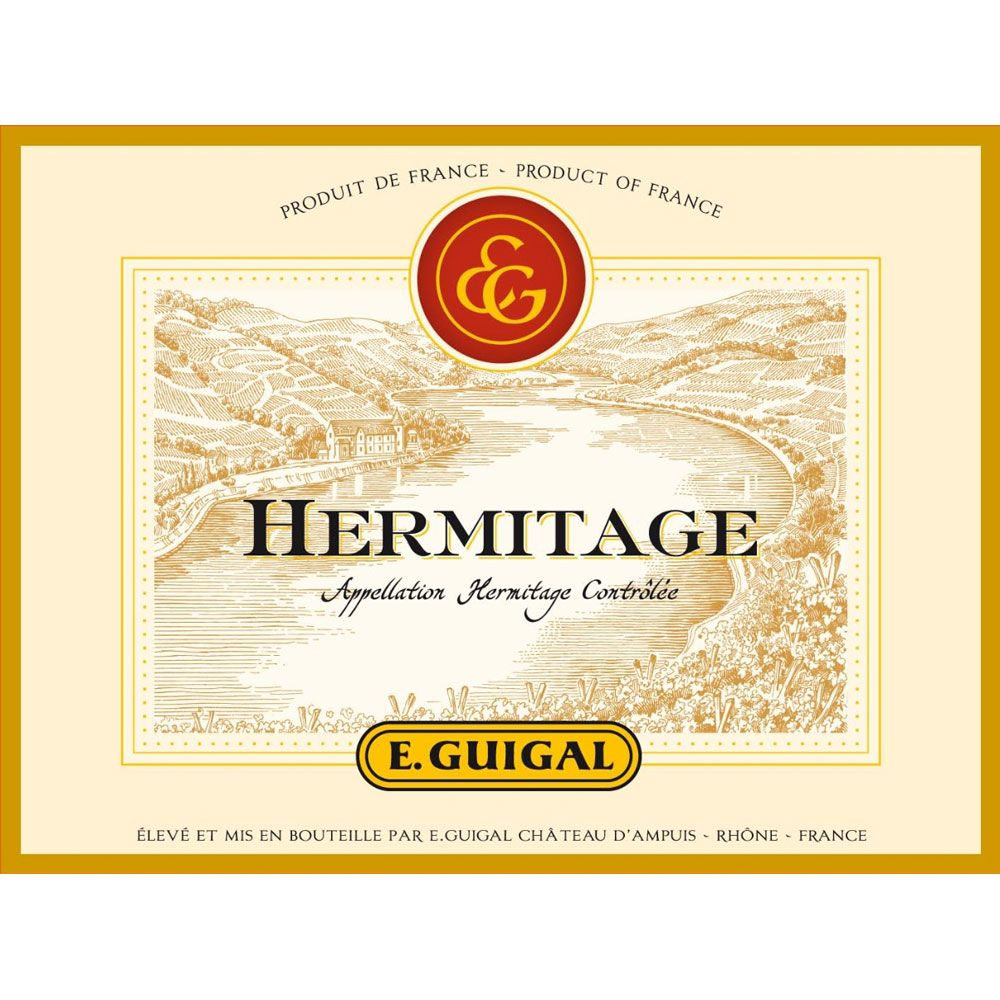 Guigal Hermitage Rouge 2012 Front Label