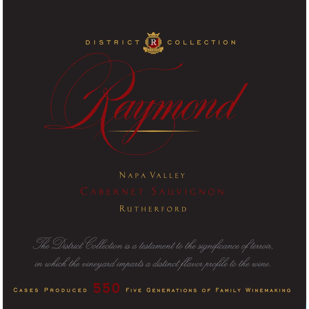 Raymond Rutherford Cabernet Sauvignon 2013 Front Label