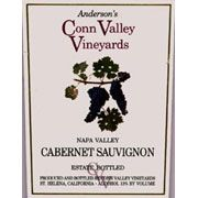 Anderson's Conn Valley Vineyards Cabernet Sauvignon Estate Reserve 2003 Front Label