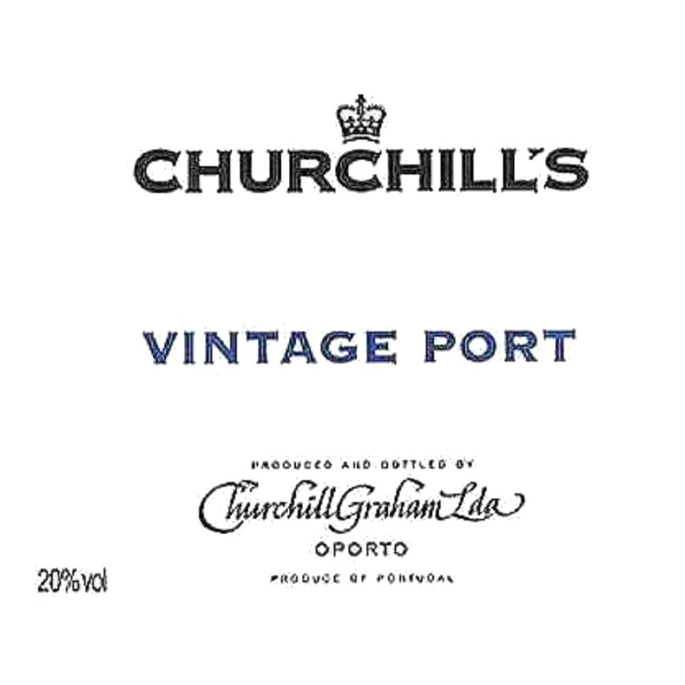 Churchill's Vintage Port (1.5 Liter Magnum) 2003 Front Label